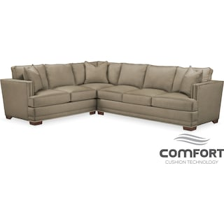 Arden Comfort 2-Piece Sectional with Right-Facing Sofa - Mondo
