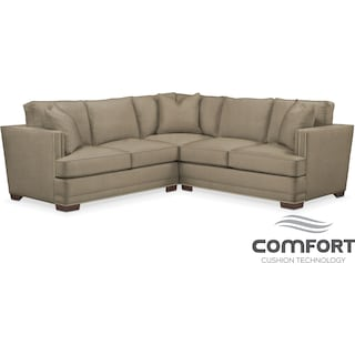 Arden Comfort 2-Piece Sectional with Left-Facing Loveseat - Mondo