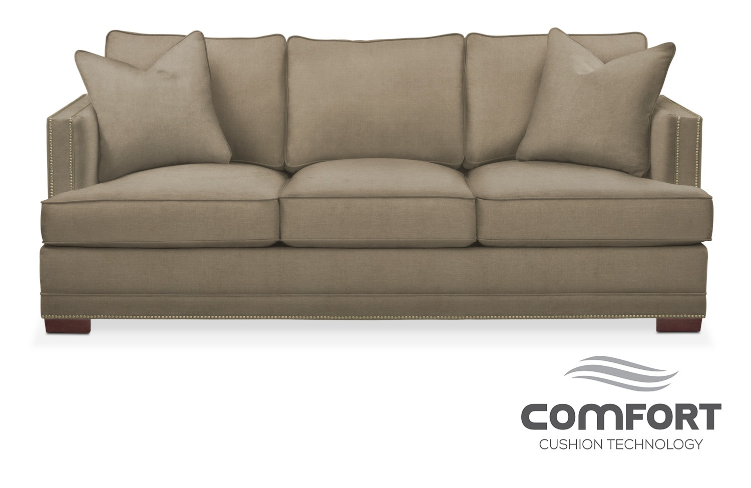Sofas couches living room seating american signature for Comfort living furniture