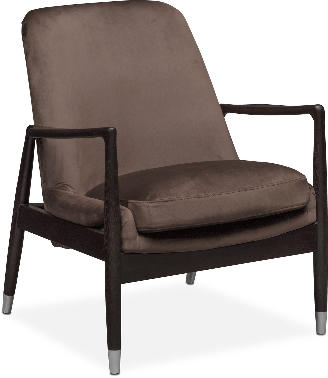 Living Room Furniture - Mastro Accent Chair - Brown