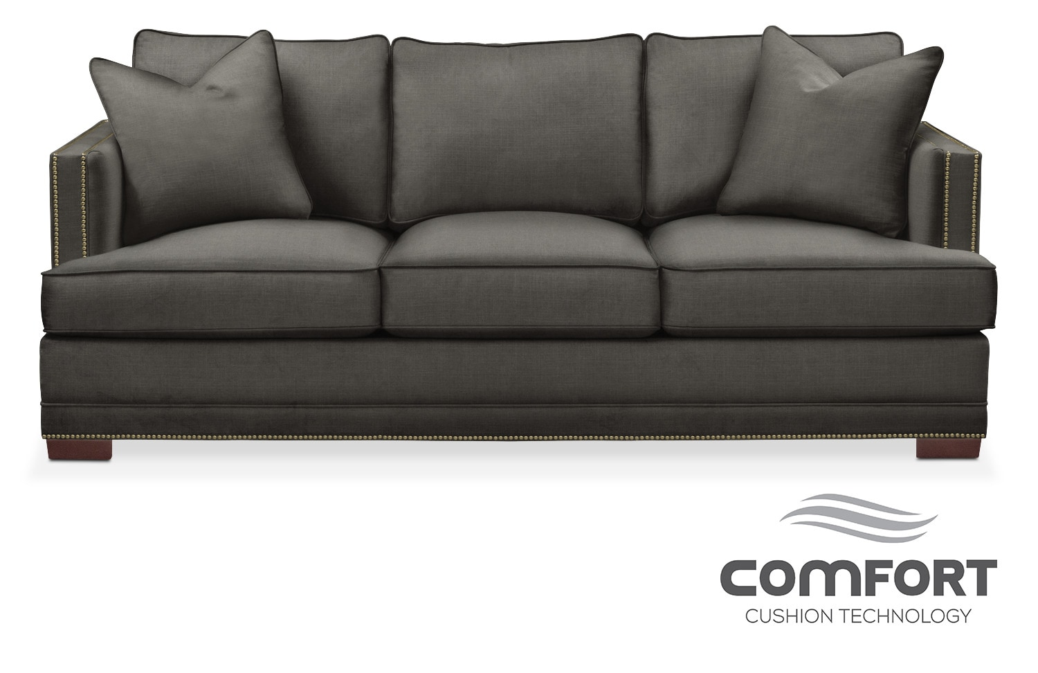 Arden Comfort Sofa   Stately L Sterling Part 82