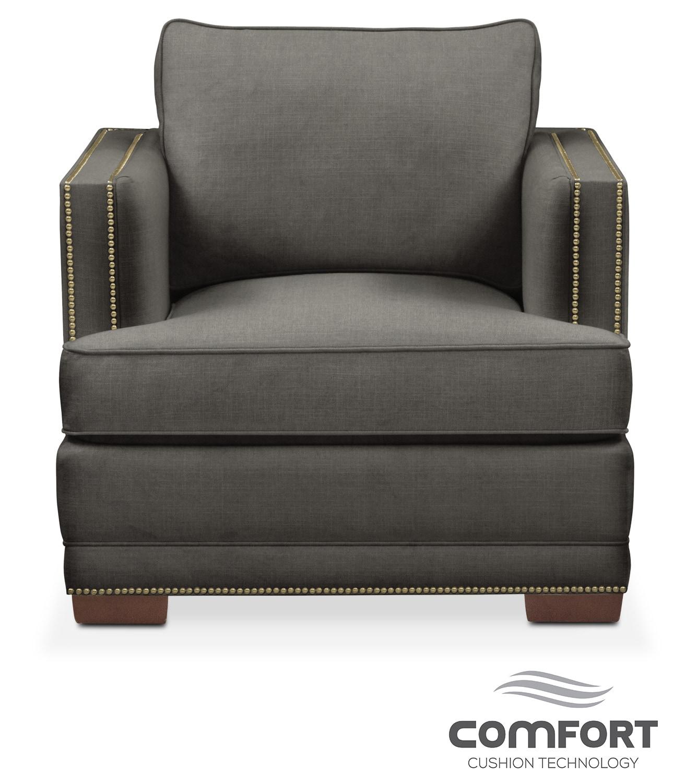 Arden Comfort Chair - Sterling