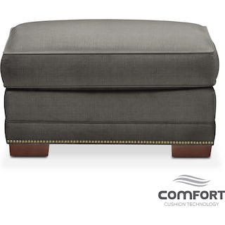 Arden Comfort Ottoman - Stately L Sterling