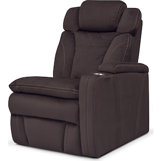 Fiero Right-Facing Power Recliner - Godiva