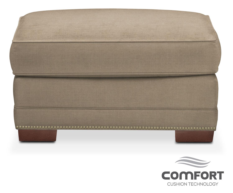 Arden Comfort Ottoman - Mondo