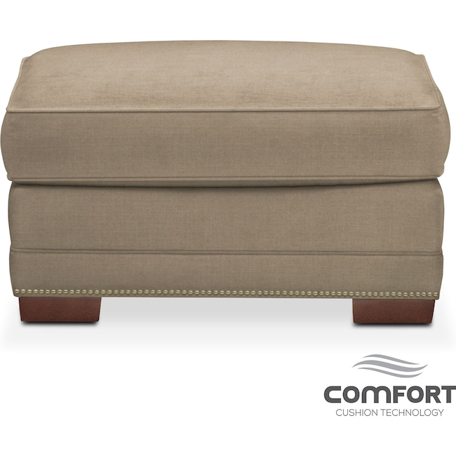 Living Room Furniture - Arden Comfort Ottoman - Stately L Mondo