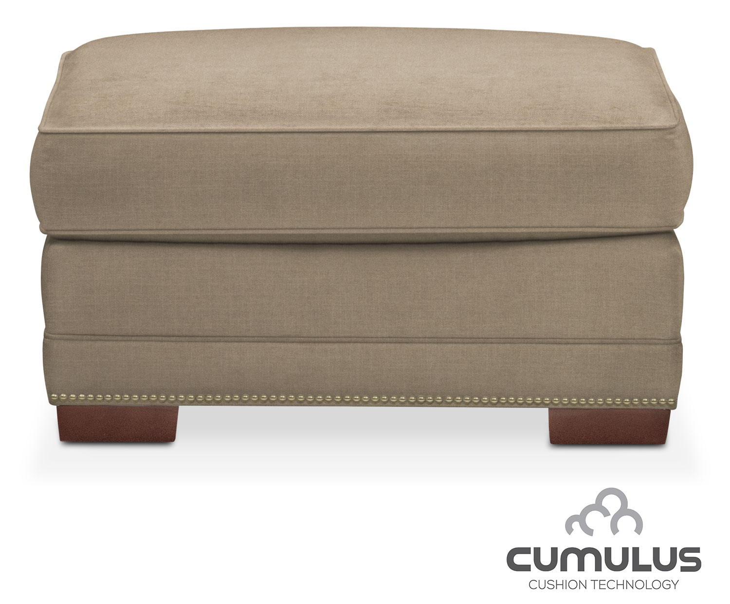 Living Room Furniture - Arden Cumulus Ottoman - Mondo