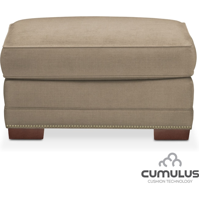Living Room Furniture - Arden Cumulus Ottoman - Stately L Mondo