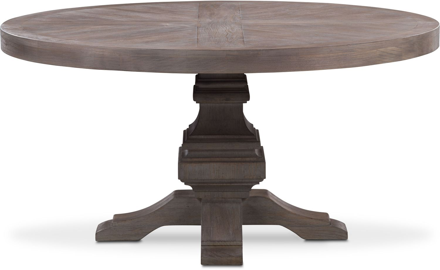 Lancaster Round Wood Top Table Parchment American