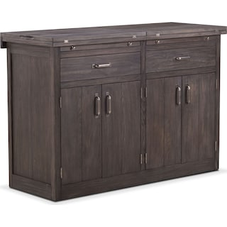 Lancaster Sideboard with Casters - Truffle