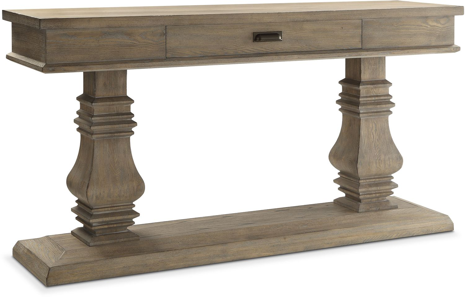 Dining Room Furniture - Lancaster Double Pedestal Sideboard - Parchment