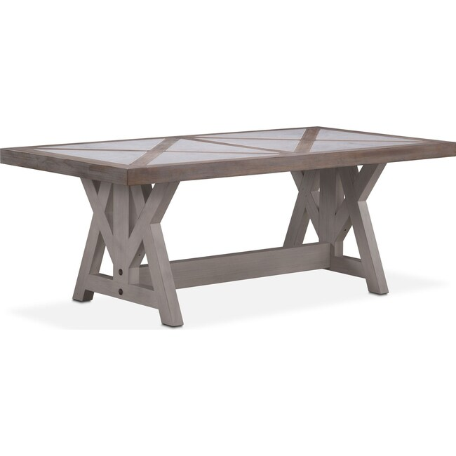 Water Dining Tables ~ Lancaster quot marble top table parchment with water