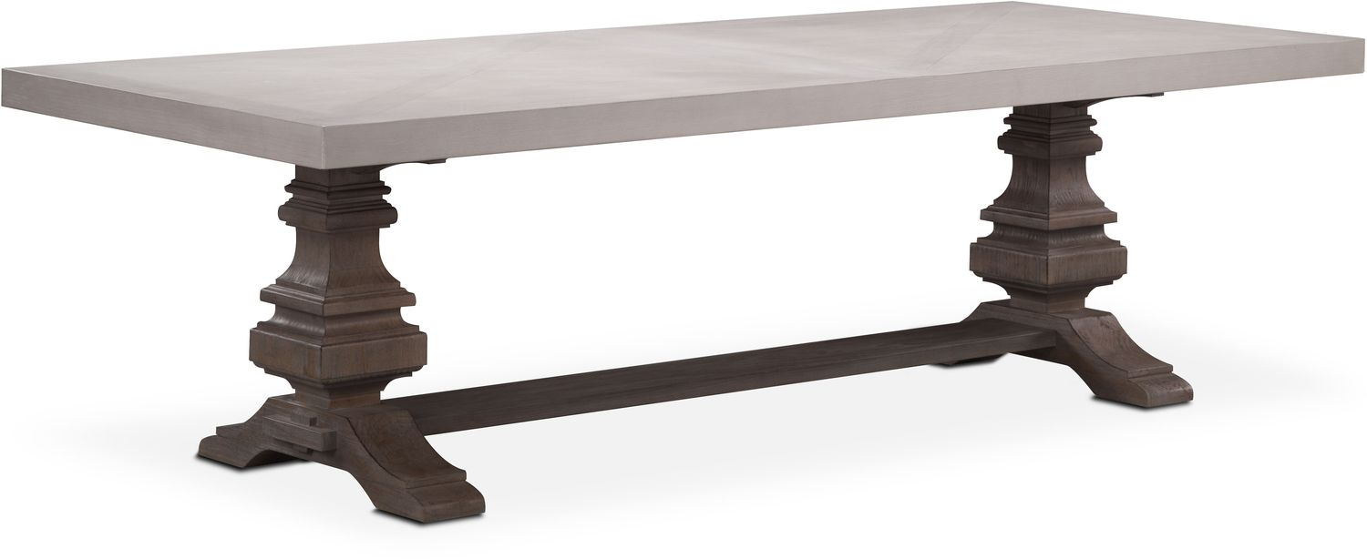 """Dining Room Furniture - Lancaster 104"""" Dining Table"""