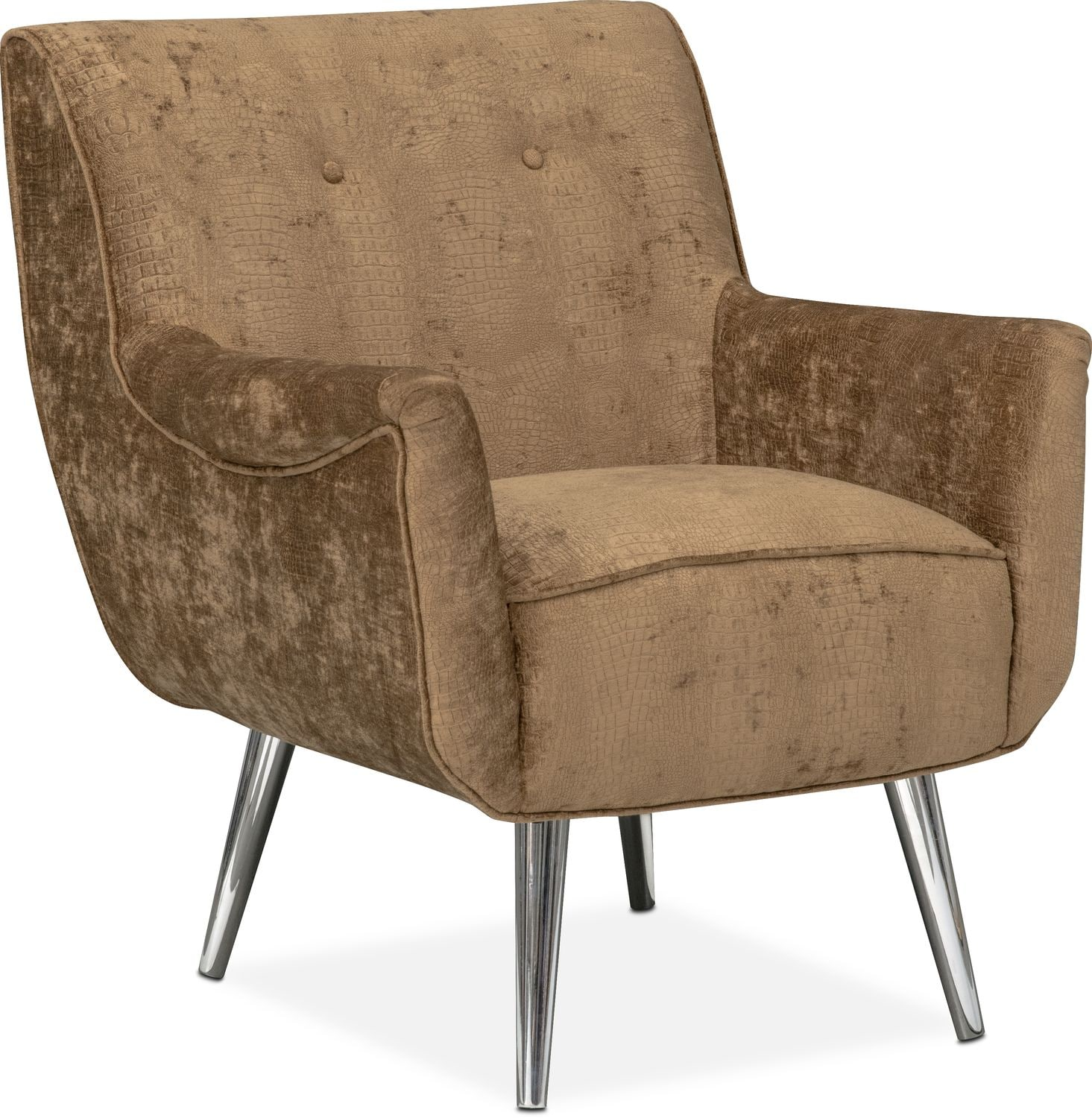 Moda Accent Chair - Caramel  sc 1 st  American Signature Furniture : chaises furniture - Sectionals, Sofas & Couches