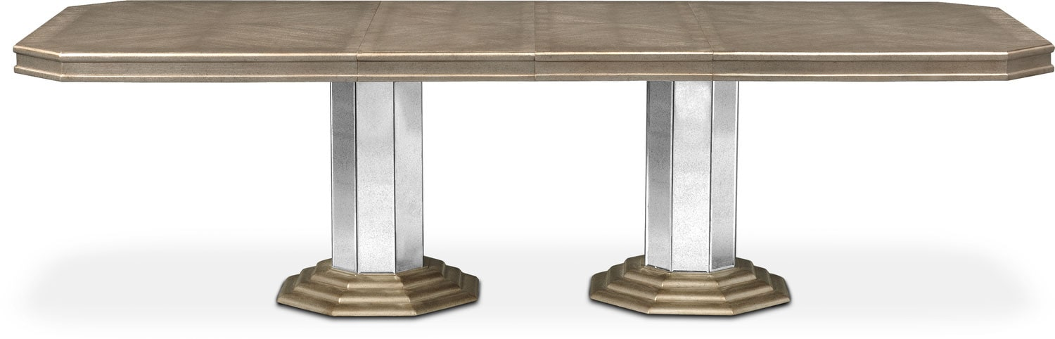 Angelina Double Pedestal Table