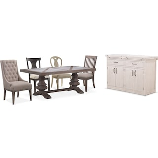 The Lancaster Urn Dining Collection