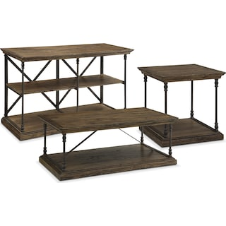 The Bedford Occasional Table Collection - Pine