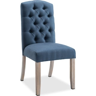 Drexel Side Chair - Navy