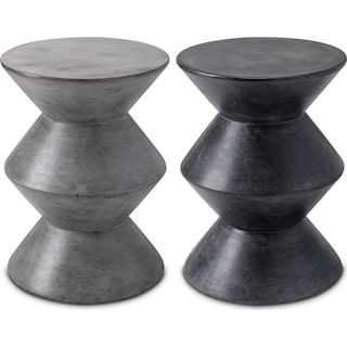The Mico Concrete End Table Collection