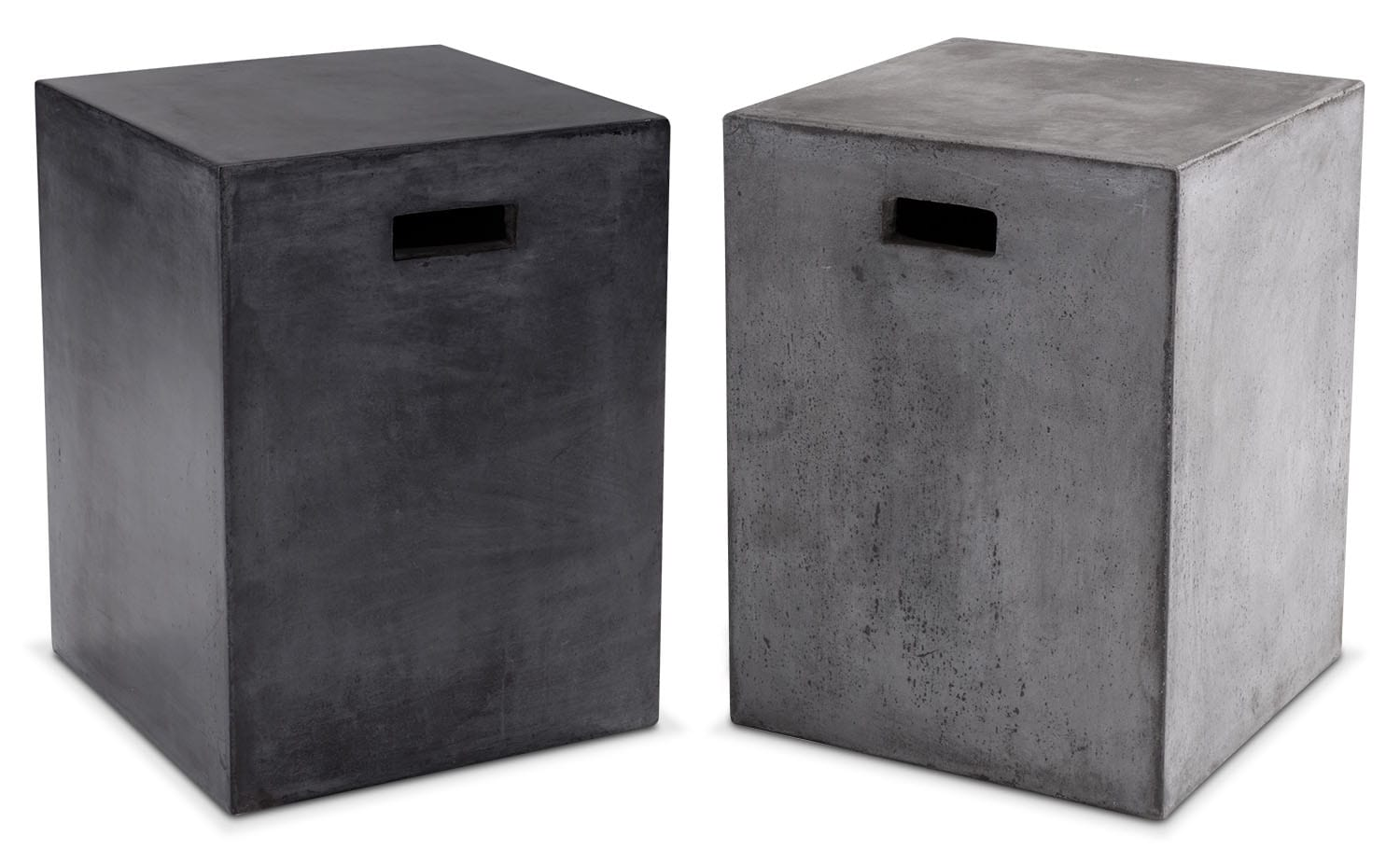 The Block Concrete End Table Collection