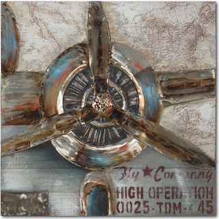 Propeller Canvas Print