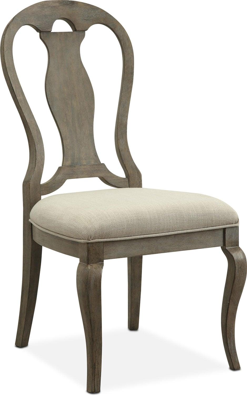Lancaster Queen Anne Chair - Parchment   American ...