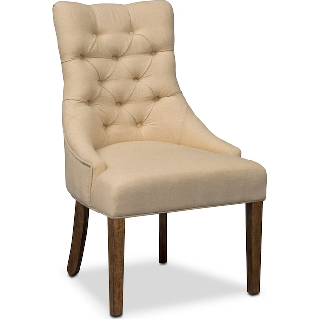 Dining Room Furniture - Melissa Side Chair - Natural