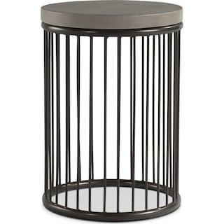 Arbor Chairside Table - Concrete