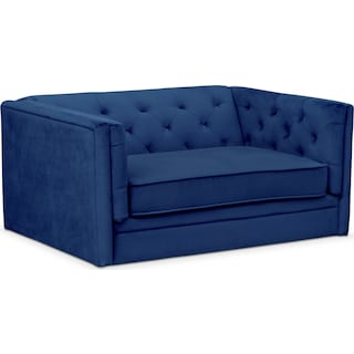 Gabe Cuddler Chair - Indigo