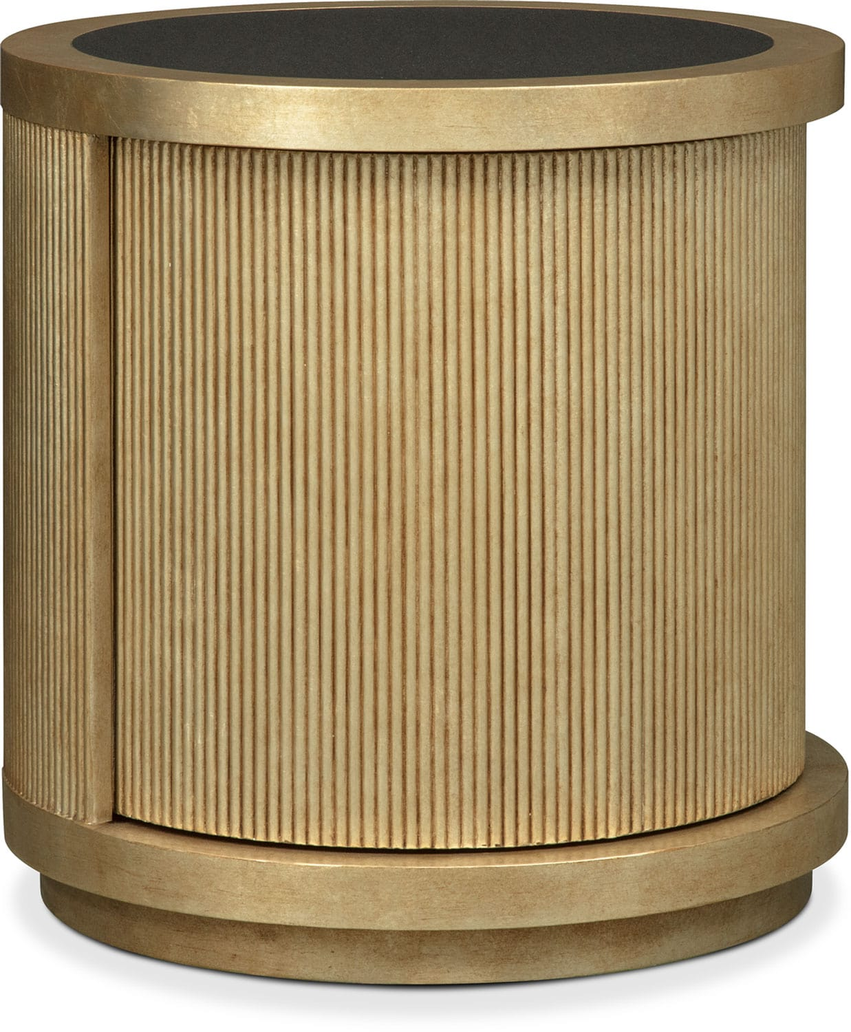 Accent and Occasional Furniture - Rotunda End Table - Gold
