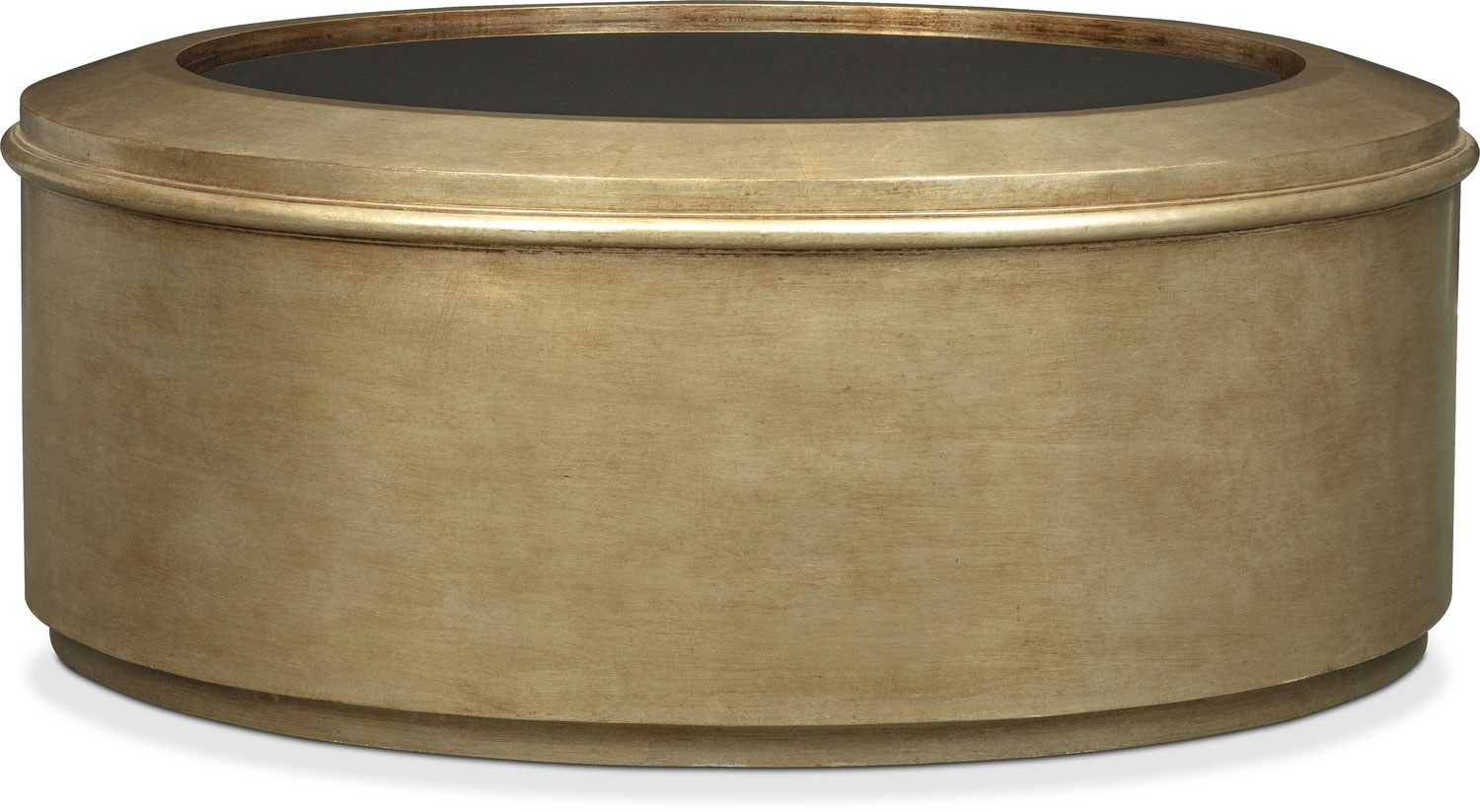 Accent and Occasional Furniture - Rotunda Cocktail Table - Gold