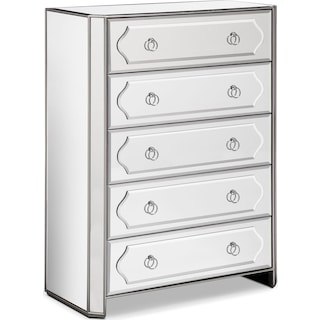Harlow Chest - Mirrored