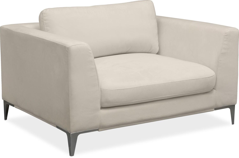 Aaron Cuddler Chair - Ivory