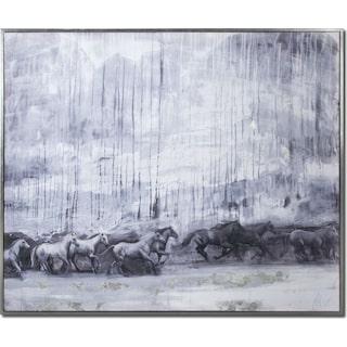 La Cavalerie Framed Painting