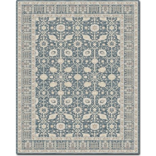 Ella Rose 7' x 11' Area Rug - Dark Blue