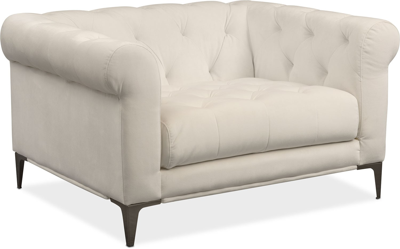 David Cuddler Chair - Ivory