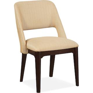 Merlot Side Chair - Merlot