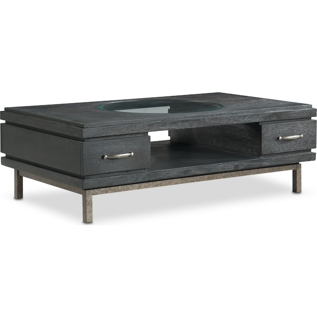 Accent and Occasional Furniture - Printworks Cocktail Table - Java