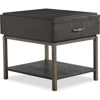 Printworks End Table - Java
