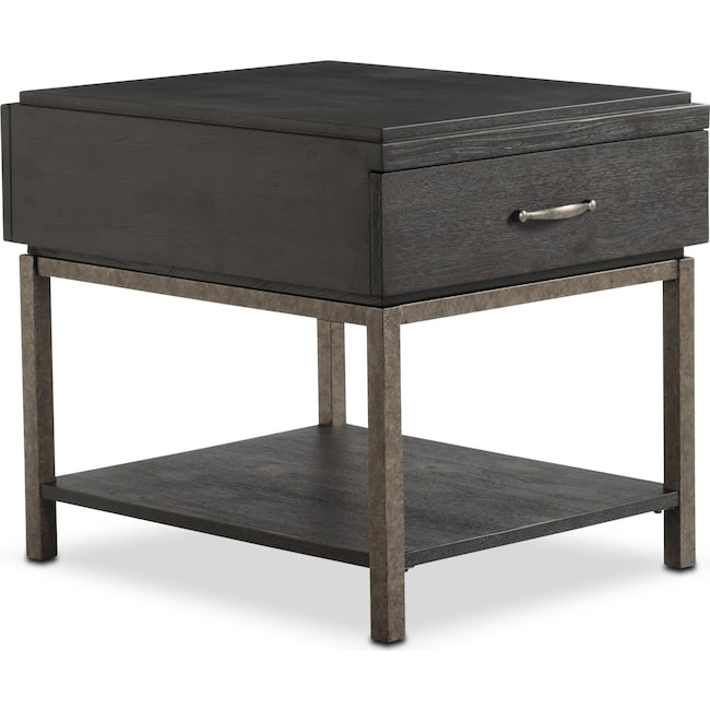 Accent and Occasional Furniture - Printworks End Table - Java