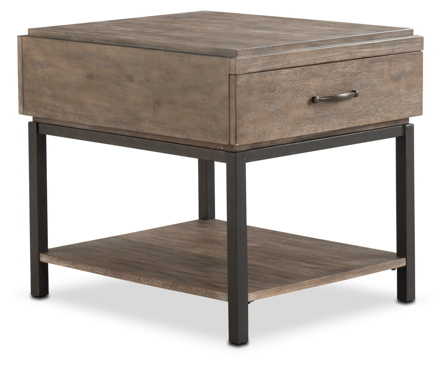 Printworks End Table - Natural