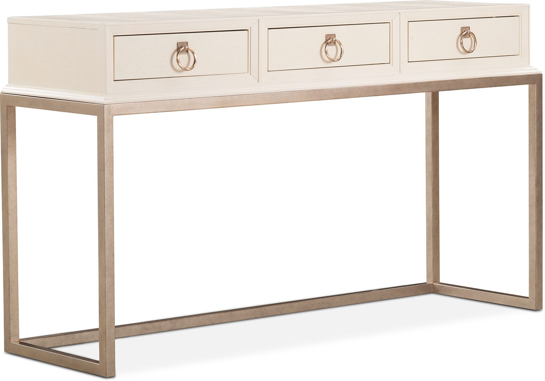 Cardozo Sofa Table - Parchment