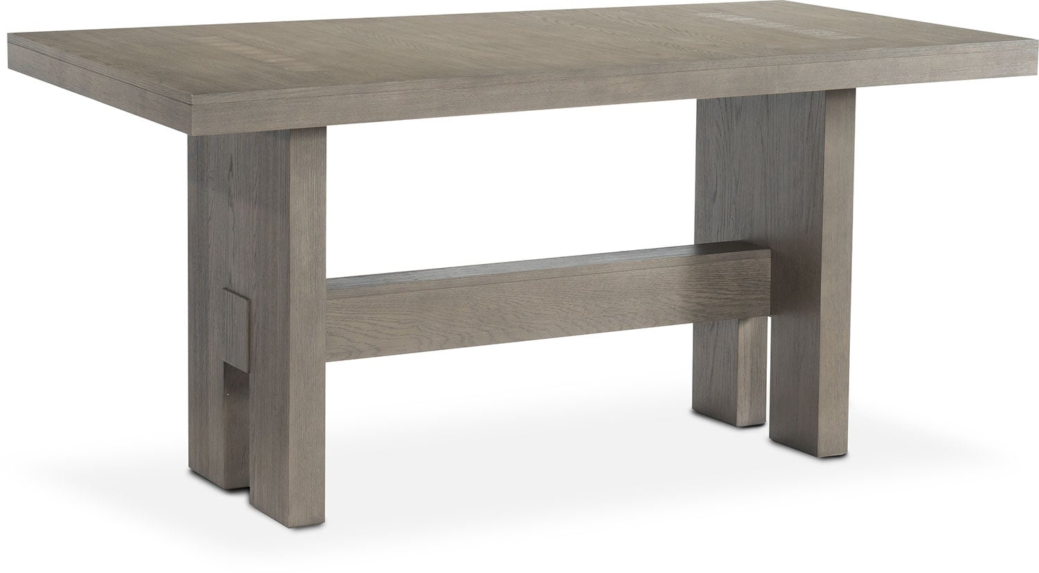Merveilleux ... Dining Room Furniture   Malibu Rectangular Counter Height Wood Top Table    Gray