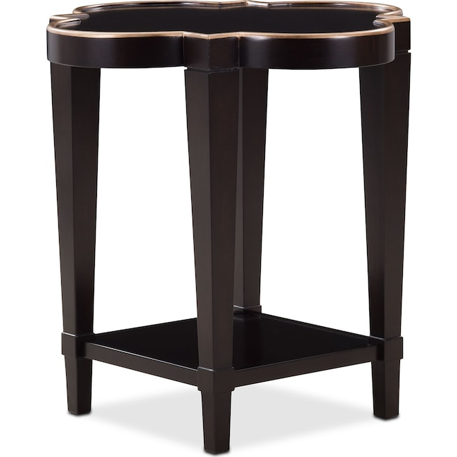 Accent and Occasional Furniture - Cardozo End Table - Ebony