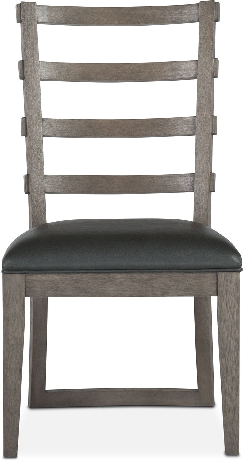 Dining Room Furniture - Malibu Side Chair - Gray