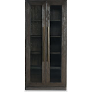 Malibu Display Cabinet - Umber