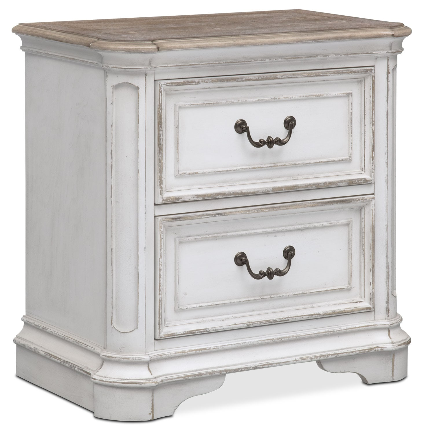 Marcelle Nightstand - Vintage White