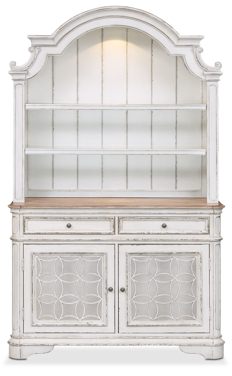 American Signature White Dining Room Buffet