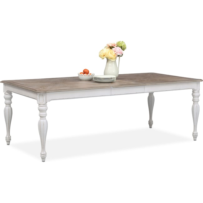 Dining Room Furniture Marcelle Table Vintage White