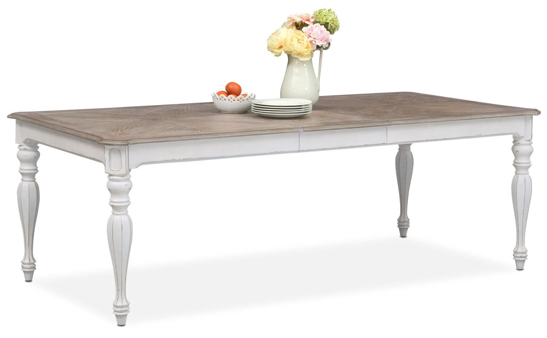 Marcelle Table   Vintage White